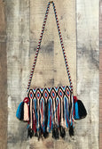 Fringe Clutch Shoulder Bag - MARSELLA