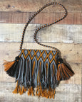 Fringe Clutch Shoulder Bag - ZUHEROS