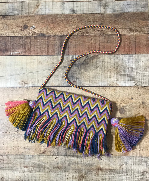 Fringe Clutch Shoulder Bag - ITSMINA
