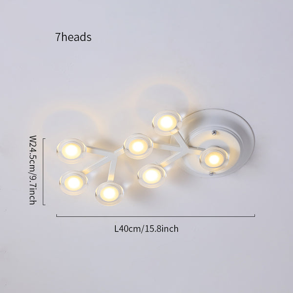 LED net ceiling/wall lamp replica