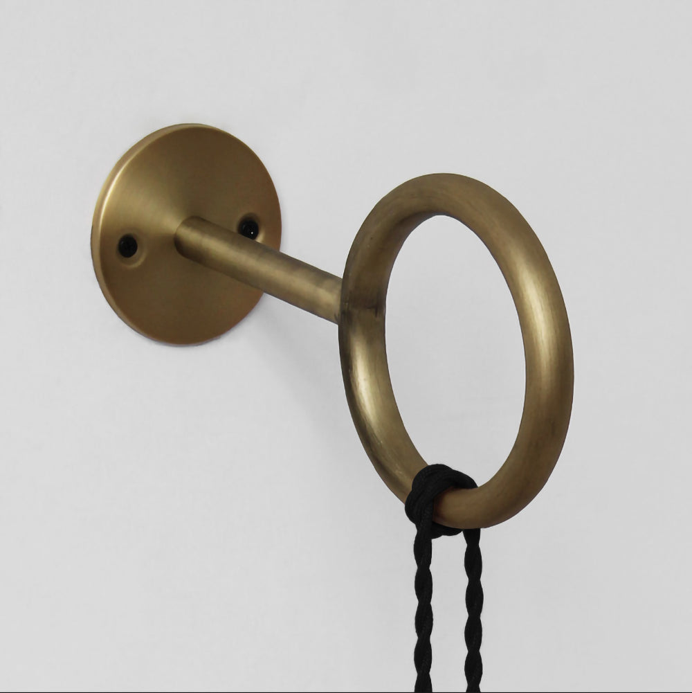 Loop Minimalist Wall Light With Wall Socket