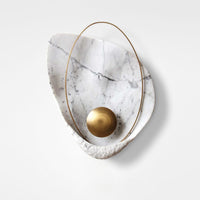 Pearl wall lamp replica