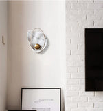 Pearl wall lamp