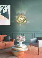 Glass Petal Pendant Lights