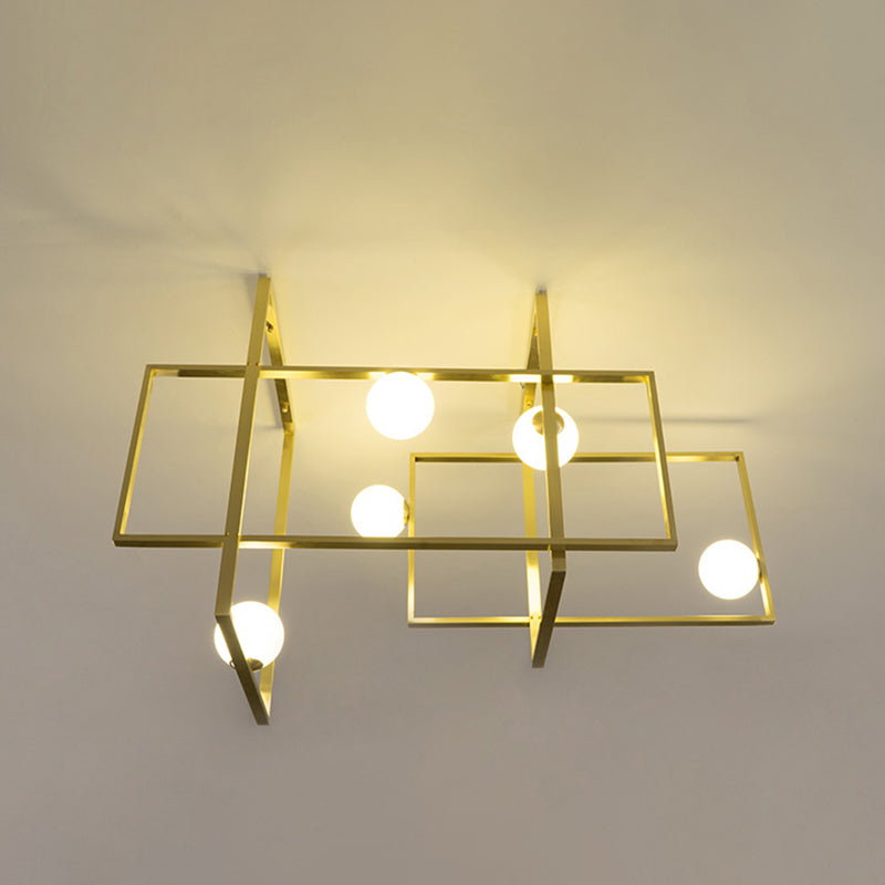 Mondrian Glass Ceiling light