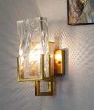 Ice crystal wall lamp Crystal Sconce