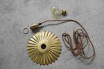 Brass Umbrella Pendant