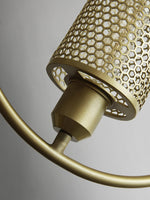 American Industrial Style Iron NET Postmoderng Pendent Lamp