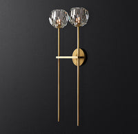 BOULE DE CRISTAL GRAND SINGLE SCONCE REPLICA