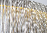 Aluminum chain chandelier