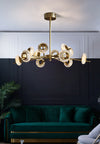 Brass Crystal LED Chandeliers