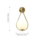 Brass Vanity Wall Lamp
