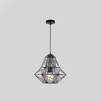 Cage Light Frame Pendant