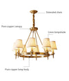 Antique Brass Chandelier