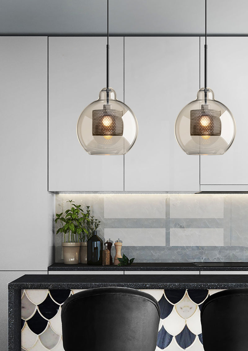 Chiswick Glass Pendant Light