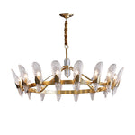Chandelier/Brass