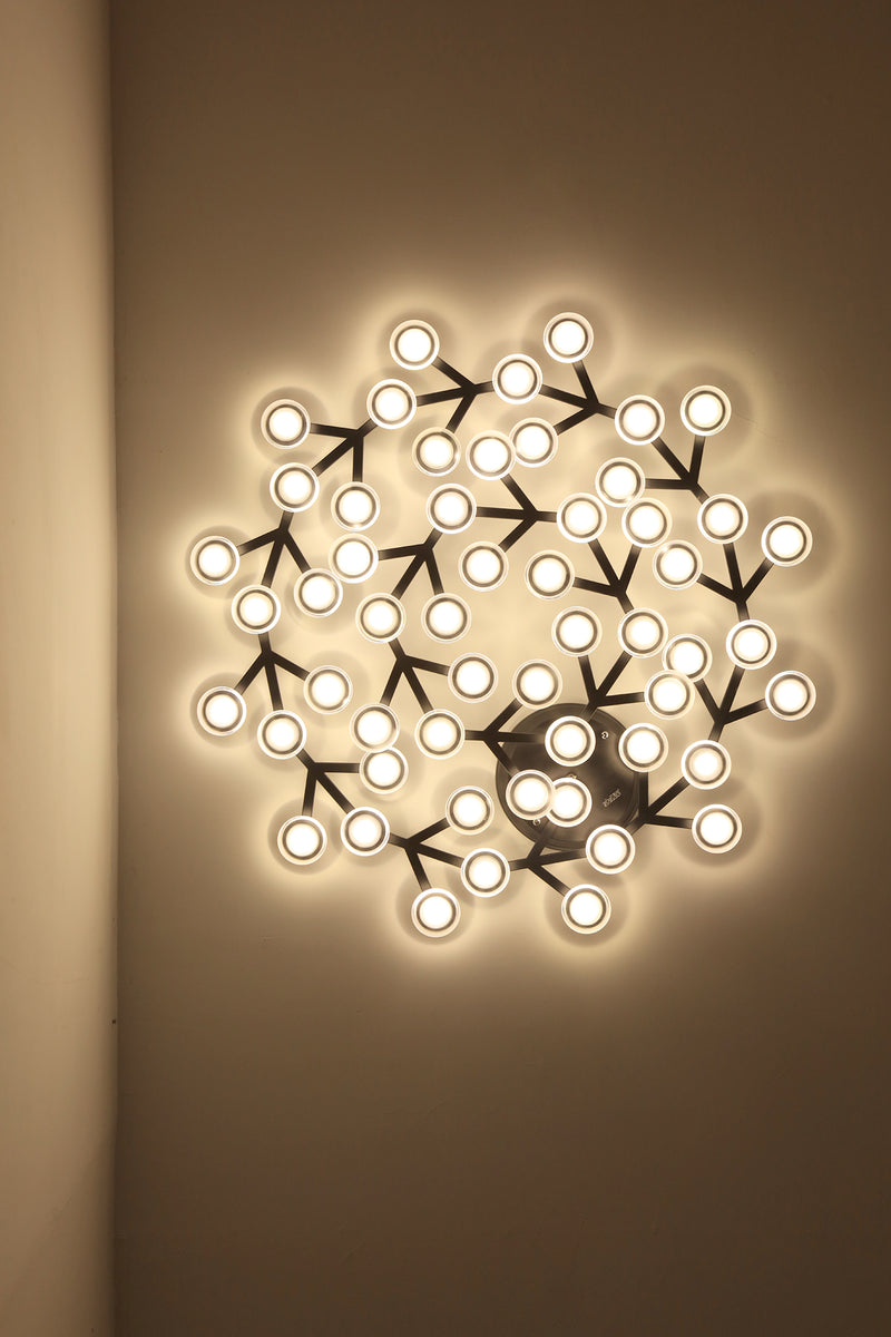 LED net ceiling/wall lamp