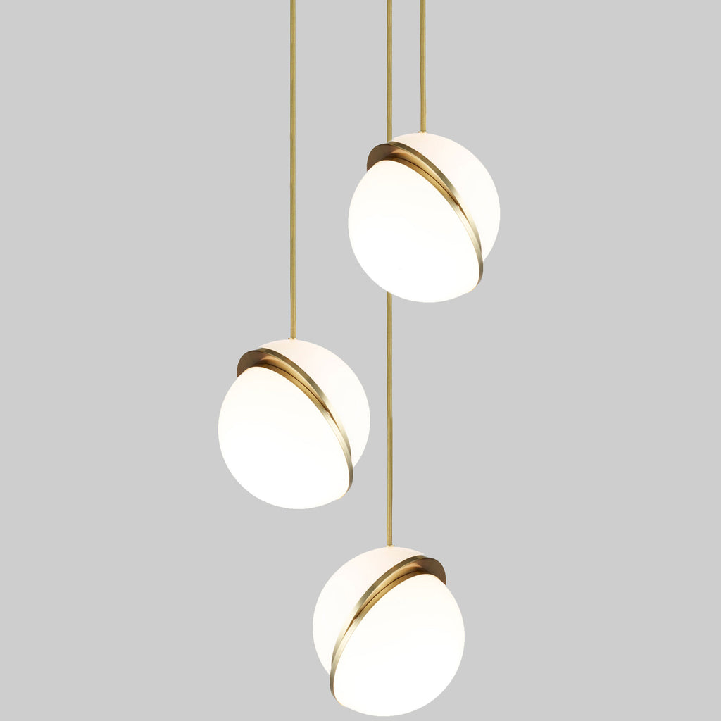 Crescent pendant Lamp
