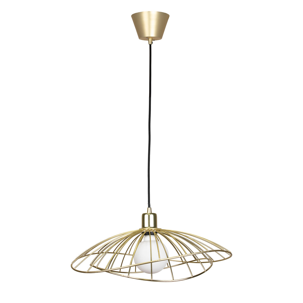 Ray metal pendant light