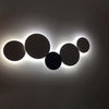 PUCK WALL ART | Fluorescent wall light