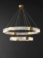 Parallel Ring LED Chandelier