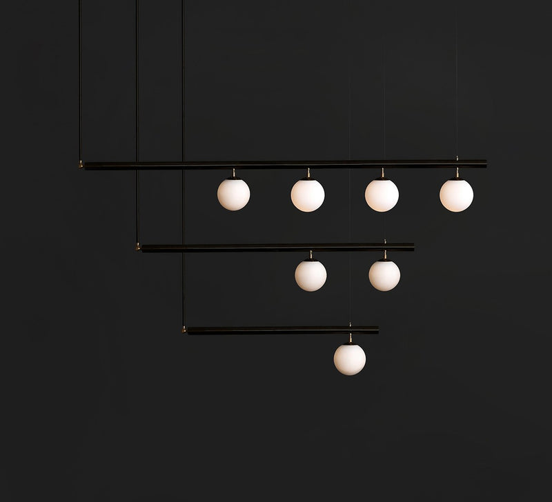 Satellite ceiling pendant light