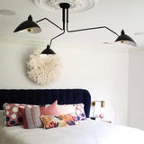 Serge mouille ceiling lamp replica