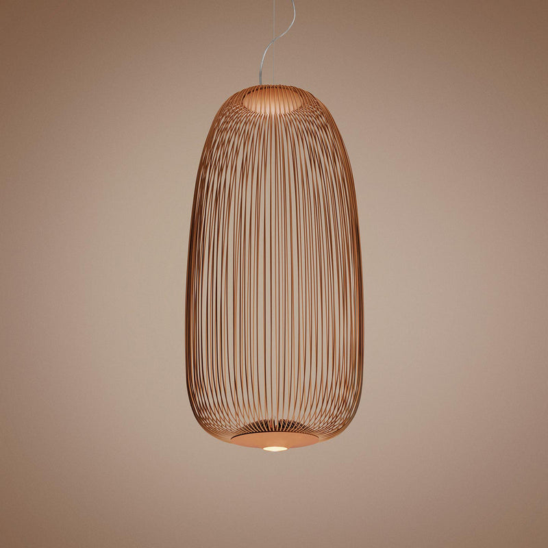 Spokes suspension lamp