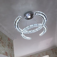 Modern Chanel Crystal Chandelier Lighting Ceiling Light Fixture