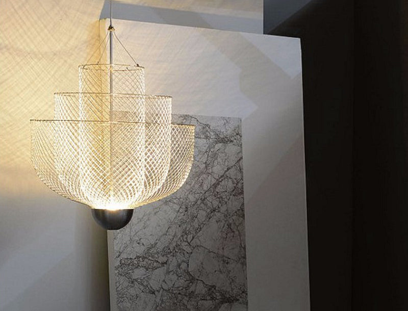 Meshmatics chandelier