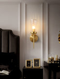 Clear Glass Shade Wall Sconces