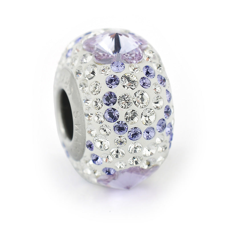 Talisman Charmante Sparkle, by Swarovski Crystals