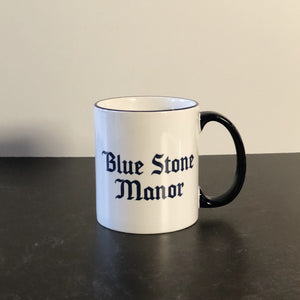 Blue Stone Manor Mug by Dorinda Medley