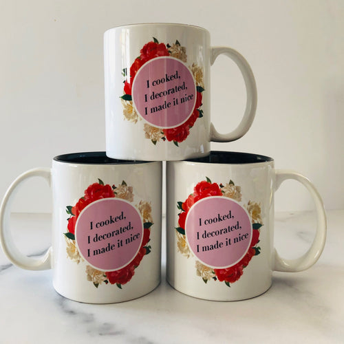 One Make it Nice Mug by Dorinda Medley rhony