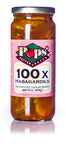Pops' Pepper Patch 100X Habagardil Hot Pickles - 16 oz.