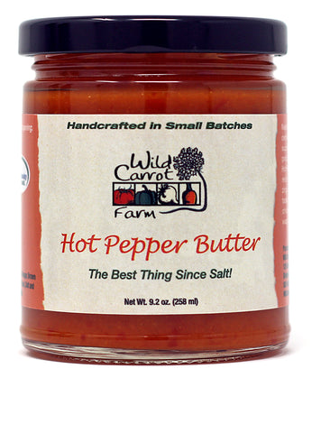 Wild Carrot Farm Hot Pepper Butter