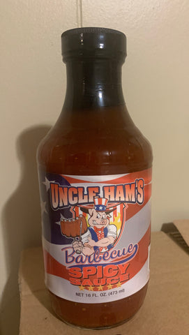 Uncle Hams Spicy Barbecue Sauce