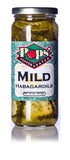 Pops' Pepper Patch Mild Habagardil Pickles - 16 oz.