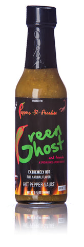 Peppers-R-Pardise Green Ghost and Friends Hot Sauce - 5 fl. oz.