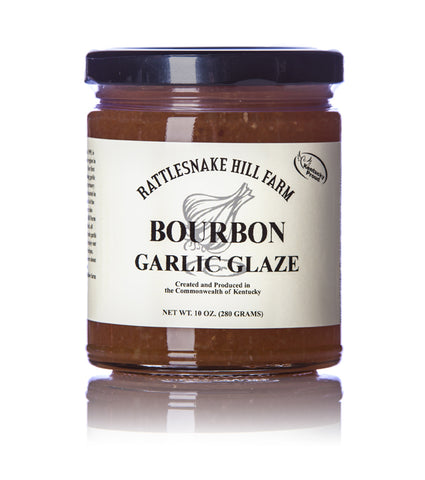 Rattlesnake Hill Farm Bourbon Garlic Glaze - 10 oz.
