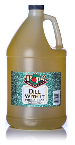 Pops' Pepper Patch Dill Pickle Elixir - One Gallon