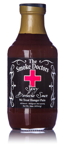 The Smoke Doctors Spicy Barbecue Sauce - 16 oz.