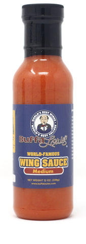 BuffaLouie's World Famous Buffalo Wing Sauce Medium - 12oz