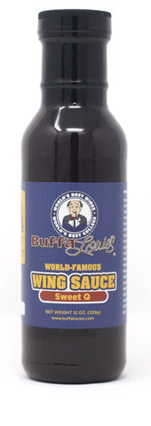 BuffaLouie's World Famous Buffalo Wing BBQ Sauce Sweet Q - 12oz
