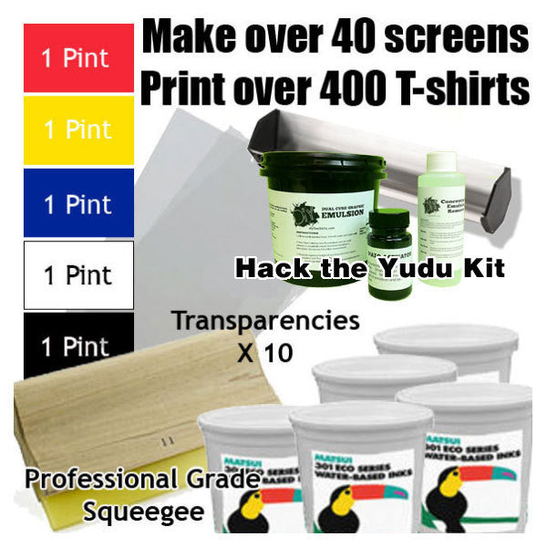 yudu screen printing machine supplies