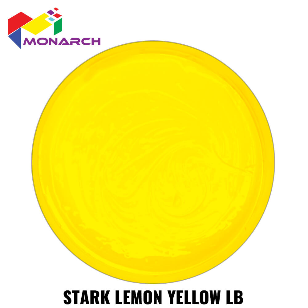Stark Lemon Yellow Low Bleed Standard Cure Plastisol Ink by Monarch