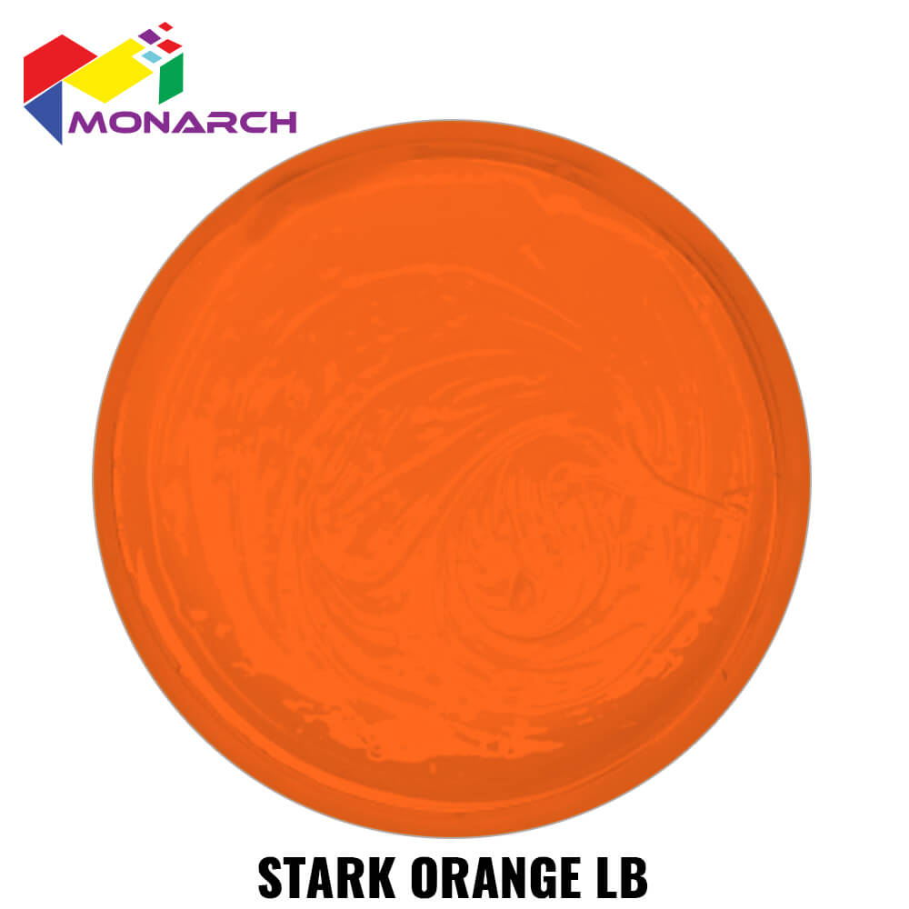 Stark Orange Low Bleed Standard Cure Plastisol Ink by Monarch