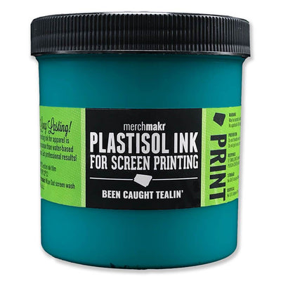 Been Caught Tealin' 7712 Merchmakr Plastisol Ink for Screen Printing