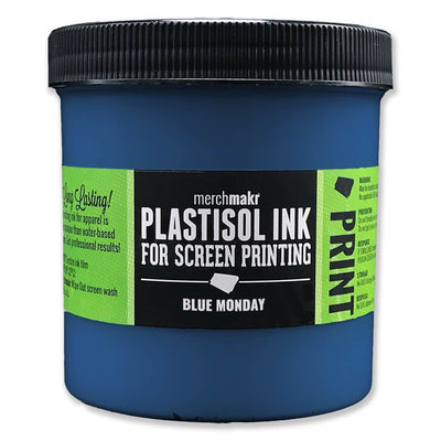 Blue Monday 7686 Merchmakr Plastisol Ink for Screen Printing