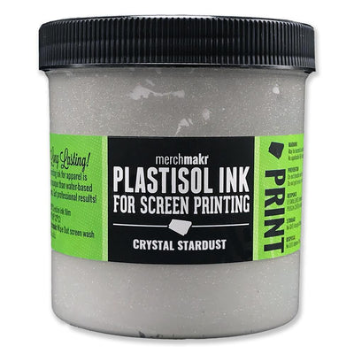 Crystal Stardust Merchmakr Plastisol Ink for Screen Printing